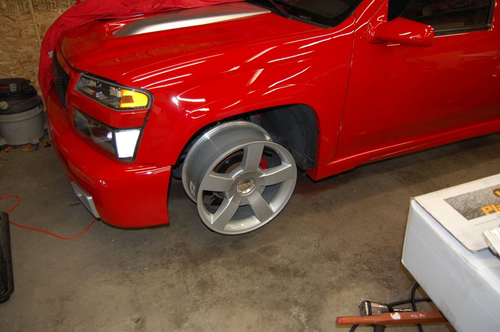Ss wheels bored and fitted chevrolet colorado gmc canyon forum