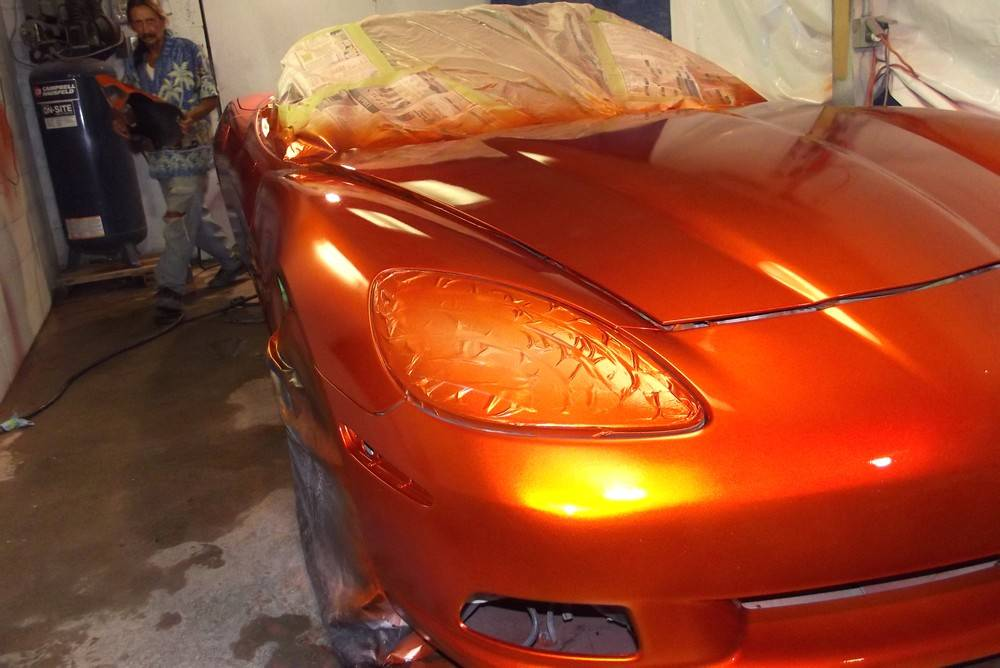 Candy Orange Car Paint The Image Kid