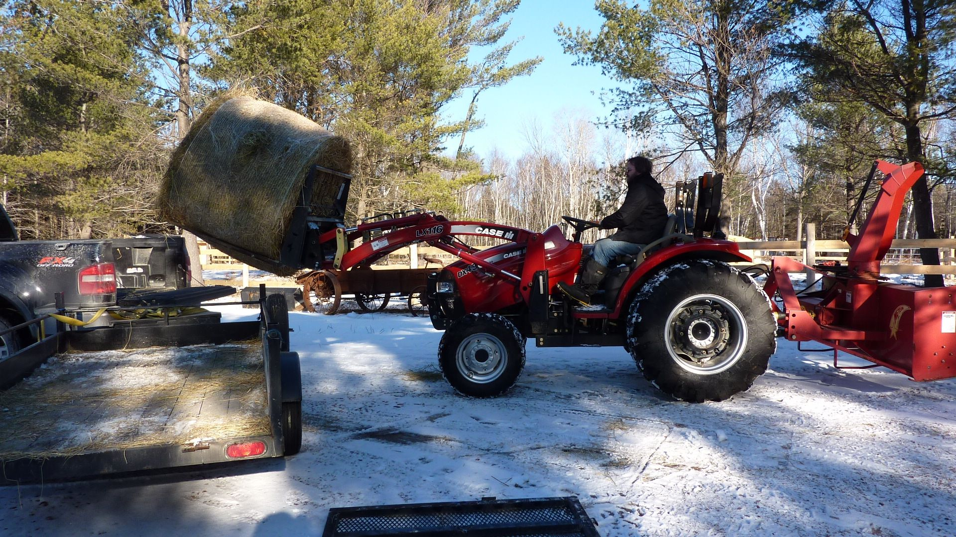 Case DX Series Compact Utility Tractor Specs. - Case / Farmall - International Harvester