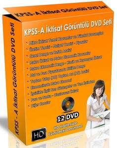 KPSS A Grubu İktisat Görüntülü Görüntülü Eğitim Seti | 12 DVD