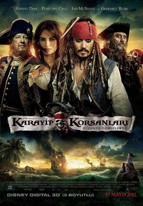 Karayip Korsanları: Gizemli Denizlerde - 2011 720p BRRip XviD - Türkçe Dublaj indir
