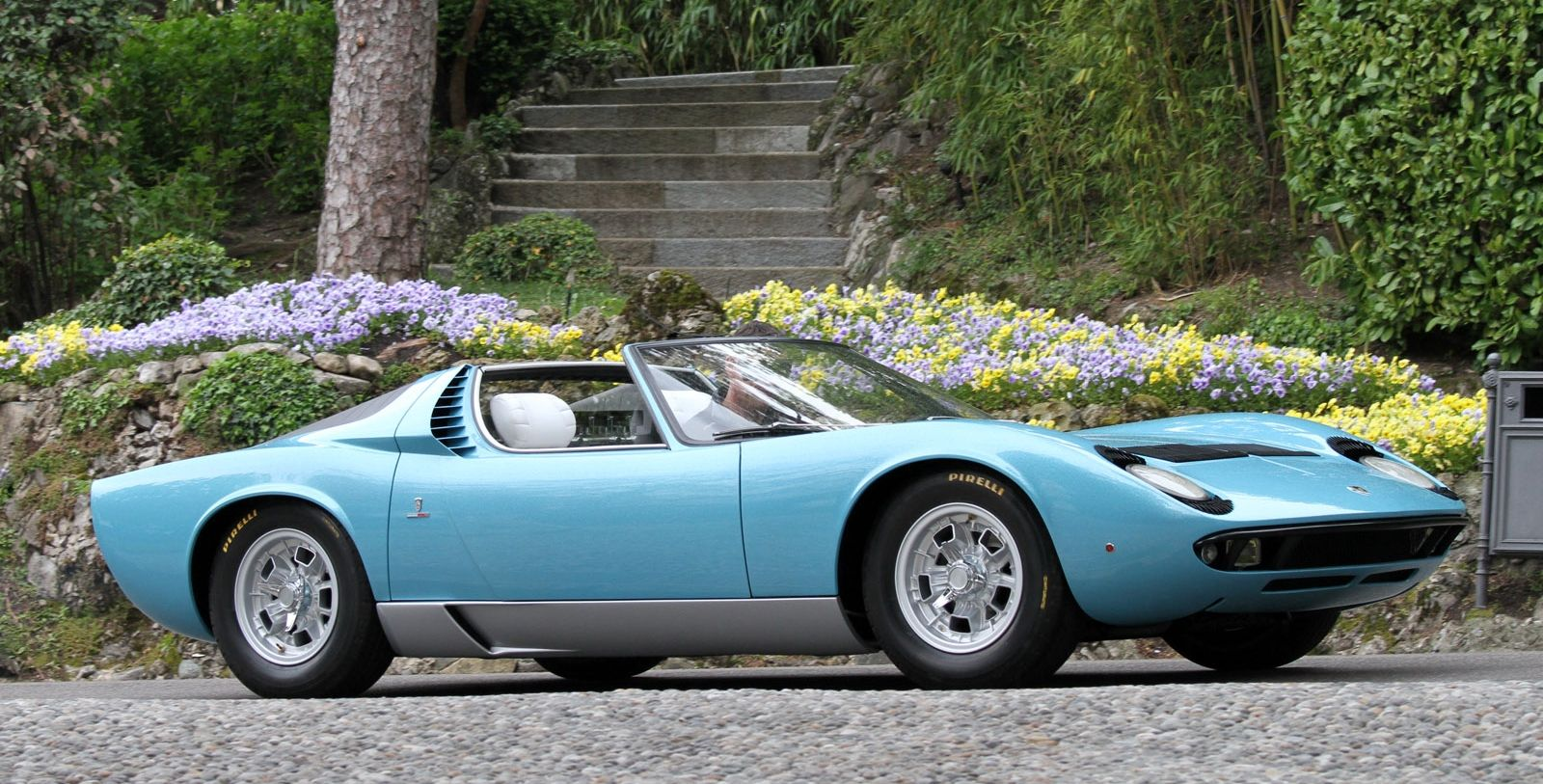 Power Cars Lamborghini Miura Roadster By Bertone Marcello Gandini