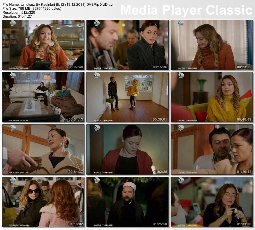 Umutsuz Ev Kadınları Bölüm 12 DVBRip XviD Tek Link indir